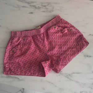 COPY - 🌸Pink and cream shorts by Rewind